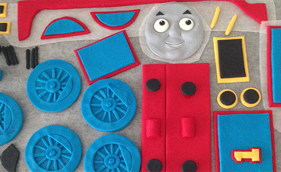 Rosie The Train Birthday Cake