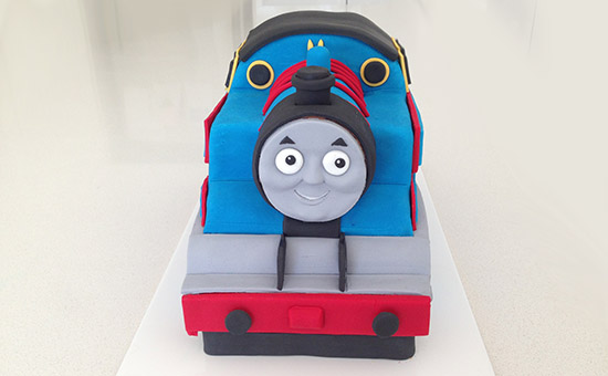 How To Decorate A Thomas The Train Cake